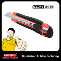 9mm Free Sample Plastic Pocket Safety Office Utility Cutter Knife