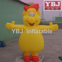 yellow lovely fat man inflatable costumes inflatable moving cartoon