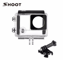 New Underwater 30M waterproof housing case for Sports Camera GoPro Hero 3+/4 with bracket