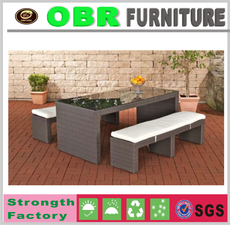 2017 Hot selling durable outdoor patio park bench and table