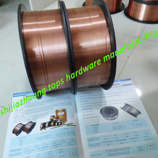 2014 best prodction 0.8mm-1.6mm ER70S-6 CO2 Mig welding wire