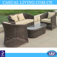Antique Leisure Ways Patio Furniture Of Rattan With Cushion