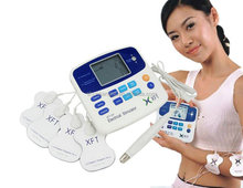 XFT-320 Electrical stimulator with Acupuncture pen/Digital Electronic pulse body massager/Neck therapy massager