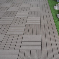 Good quality Europe quality garden interlocked WPC diy tile