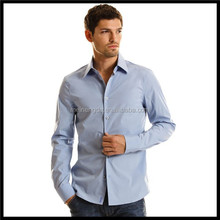 New Fashion Casual Slim Fit Stylish man shirt manufacturer for china