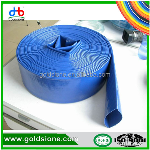 non toxic pvc flexible aging resistant lay flat hose OEM