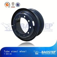 BAOSTEP High Rockwell Hardness Wholesale Heavy Equipment Rims