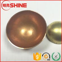 decorative wrought hollow aluminum steel half sphere