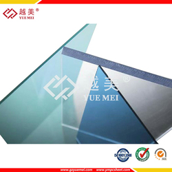 Solid Polycarbonate Sheeting, Plastic Building Material for Roof Ceiling Panel