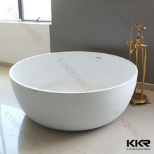 freestanding round bathtub portable shower tub