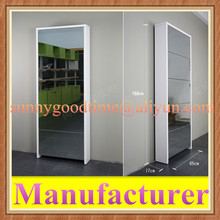 Mirror melamine shoe cabinet,shoe rack,shoe shelf