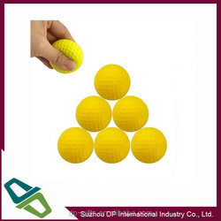 42MM PU Foam Practice Golf Ball, PU Soft Golf Ball