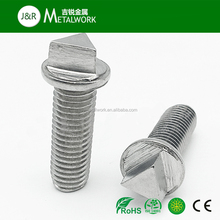 A2 A4 SS304 SS316 Stainless Steel Triangle Head Security Machine Screw