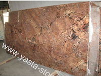 Juparana Crema Bordeaux Granite Slabs