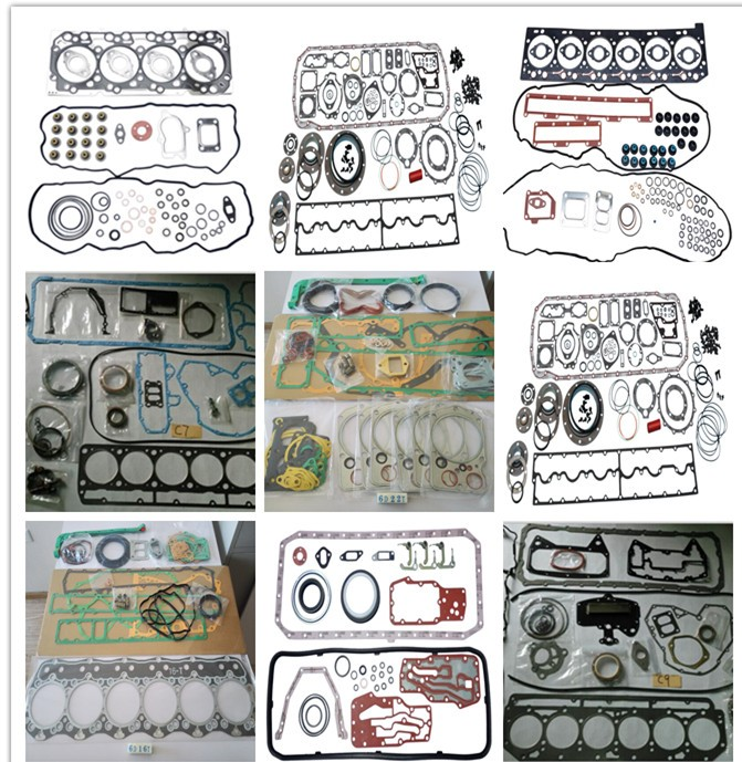 Original/OEM diesel engine seal parts 4G63-8V full & upper & lower gasket set kit