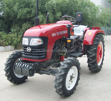 4 wheels 2WD 4WD tractor good quality farm tractor price list