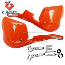 "HG-03H-OG Orange motorcycle factories spare parts china 7/8"" Aluminium Brush Bar led hand guard front guard for motorcy"