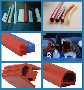 heat-resistant silicone rubber seal strip customized as a drawing