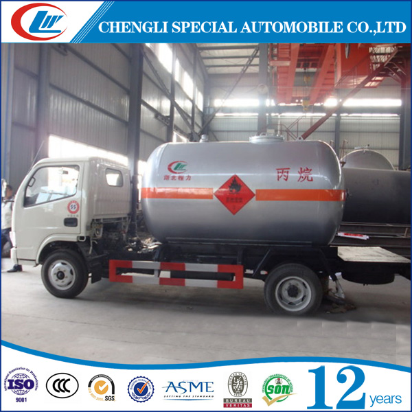 CLW 4x2 Small Volume LPG Delivery Truck