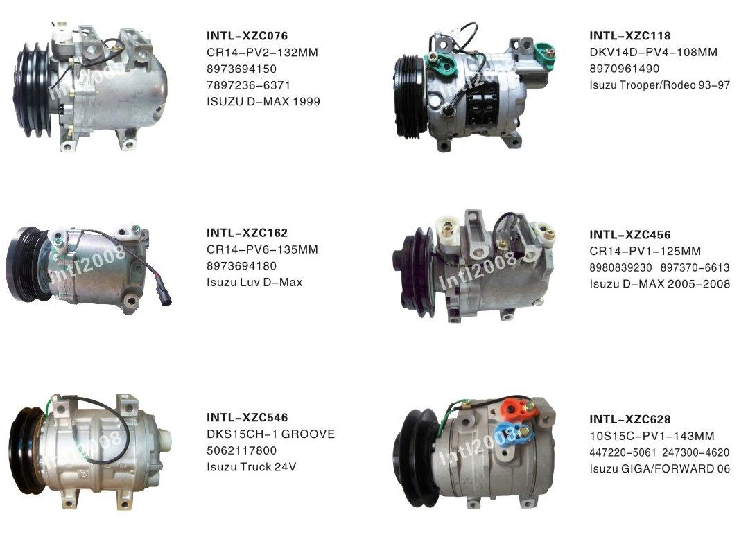 V08A0AA4AJ 9520080JA2 95200-80JA2 95201-80JA0 for Suzuki SX4 Grand Vitara 229 L4 2.0L 5PK auto ac compressor