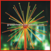Color changing Artificial christmas outdoor LED Firework Lights BW-SR008