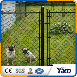 vinyl coated chain link fence used for dog run, dog cage