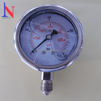 Stainless Steel Oil Filled Hydraulic Pressure Gauge
