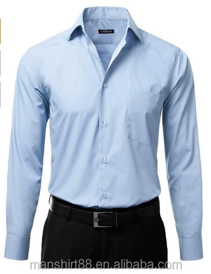 Uniforms men 39 s light blue work shirt buy uniforms work for Light blue work shirt