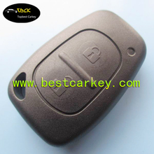 Topbest 2 buttons remote key blank without key blade for replacement key blank