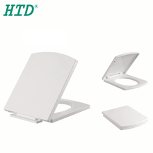 Competitive Price Top Fixing Square Toilet Seat Sanitary Cover Manufacturer with Soft Closing