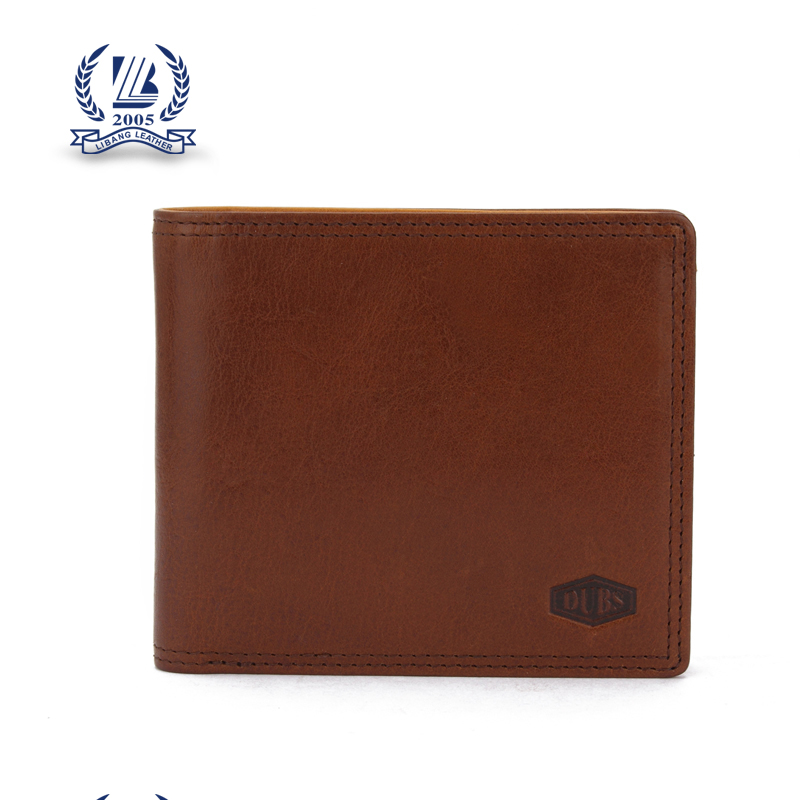 Custom men Gender real leather wallet for men