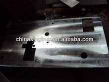 cnc machining steel milling plate