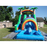 Classics cheap inflatable water slide pool for sale for wholesales