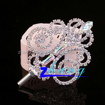 Beauty pageant rhinestone scepter