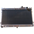 Hand-welded auto aluminum radiator for MIATA 90-97 MANUAL