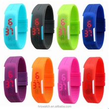 Latest Fashionable Digital Silicone Sports Smart Skmei LED Watch