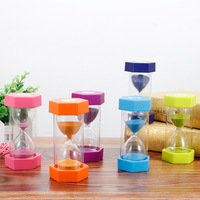 Hourglass Sand Timer 15 Minutes for Kids Games Classroom Home Office Kitchen Use kids shower timer