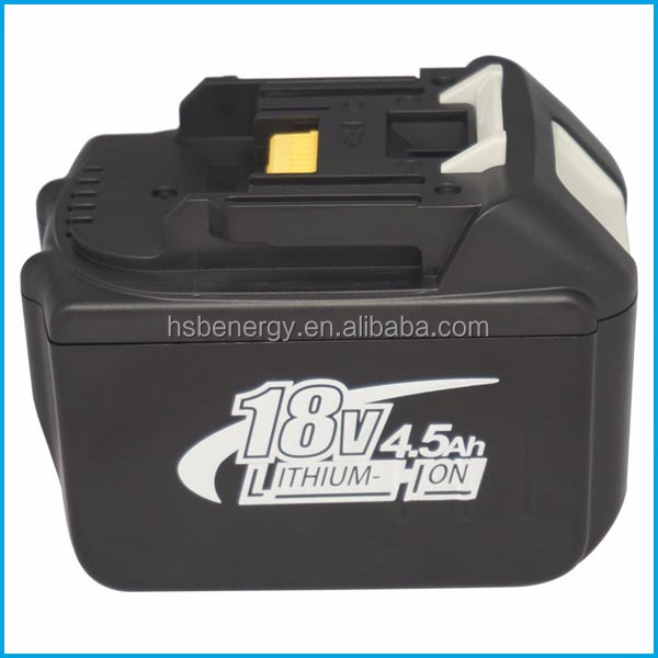 quality OEM wholesale best quality Makit 18V 4.5AH BL1840 Makit BL1840 BL1845 Battery replacement