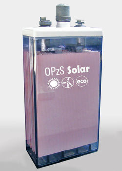 OPzS Solar tubular plate battery for renewable energy