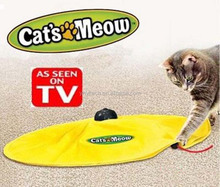 High quality Popular Automatic Cat <strong>Training</strong> Toys Undercover Mouse Cat's Meow E001