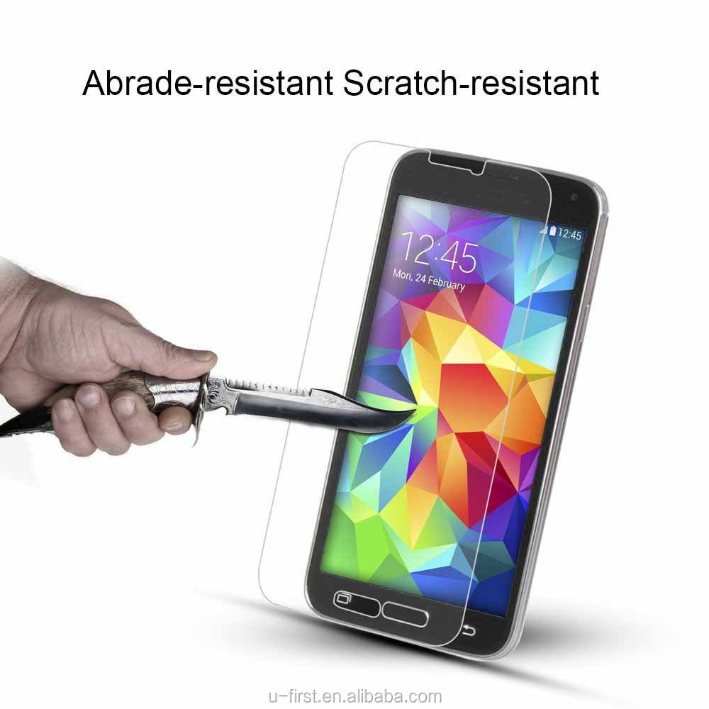 Hot selling Factory Price Mobile Phone 0.3mm Tempered Glass Screen Protector/Film for samsung s6