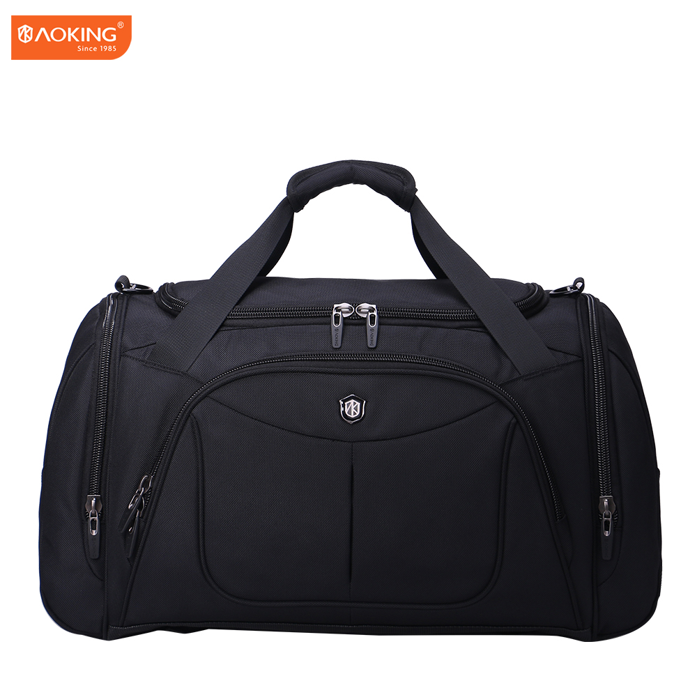 high capacity cheap polyester travel duffle bag waterproof sport travel bag for men