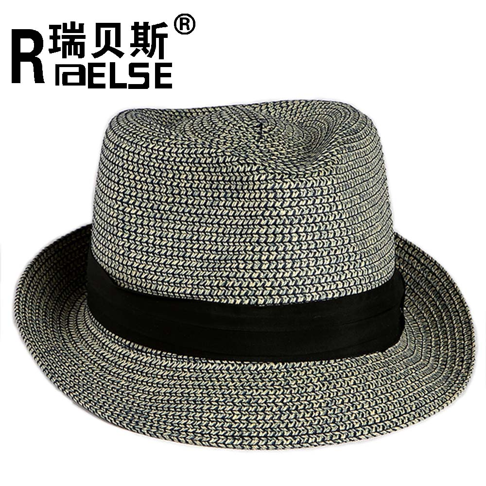 wholesale fedora cheap hat fedora paper straw hats men