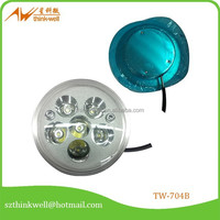 6 lamp beads and bowl body led mh4 motorcycle headlight