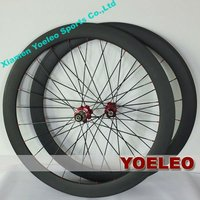 Strong road bike wheels tubular 50mm for road bike