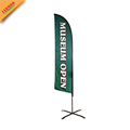 beach banner flag with steel base