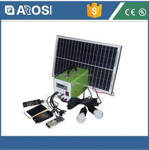 Arosi high quality best price solar airport runway lights 10w 7ah poly mini system made in China