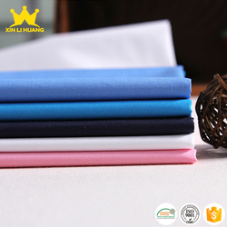 New Product Plain Dyed 40x40 133x100 100% Cotton Poplin Fabric for Making Shirt