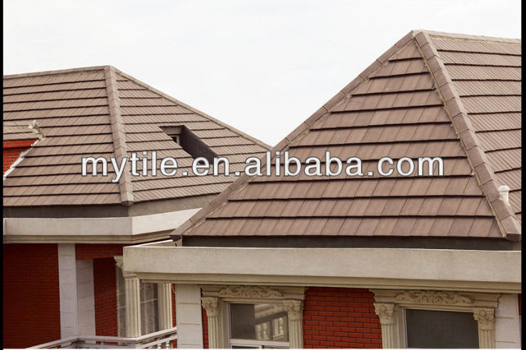 2014 China new product concrete roof tile price