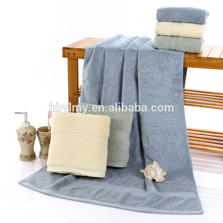 High Quality Bamboo fiber B grade towel for hot sell